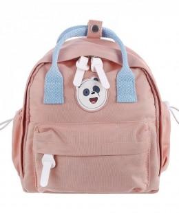 حقيبة ظهر من الدببة الثلاثة - وردي - باندا