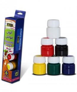 ألوان غواش15 مل  6 لون