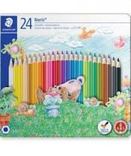 أقلام الألوان المائية 24  Staedtler Noris Club