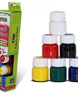 ألوان قماش 15 مل  6 لون