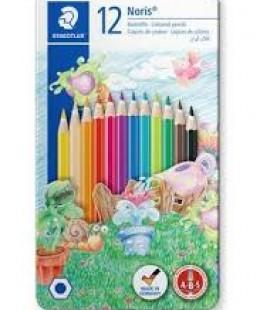 أقلام الألوان المائية 12  Staedtler Noris Club