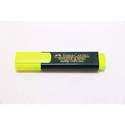 قلم مظهر لون اصفر فابركاستل