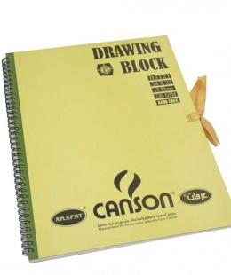 كراس رسم كانسون   18 ورقة   180 جرام مقاس 24 سم × 32 سم