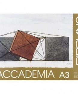 دفتر الرسم  الايطالي فابريانو اكاديميا  أبيض ،29.7 × 42 سم A3 ،20 ورقة ،224. جم